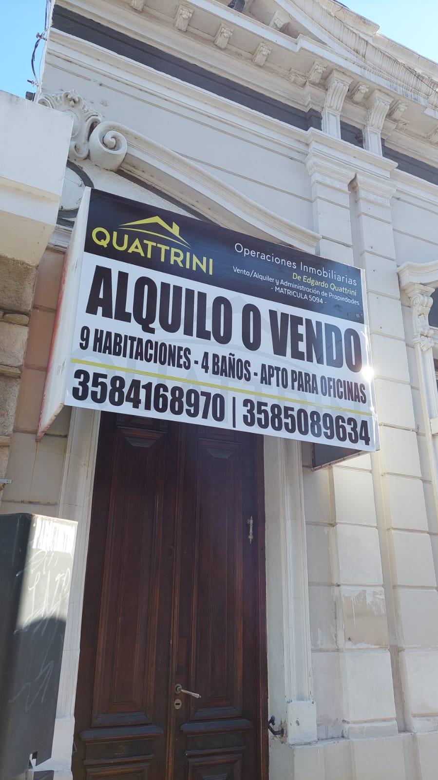 CASA EN VENTA – CALLE RIOJA 159 – RIO CUARTO